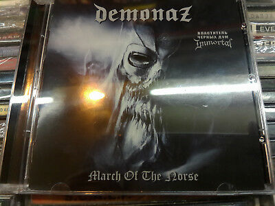 DEMONAZ (IMMORTAL guitarist) ‎March Of The Norse 2011 CD black metal; emperor