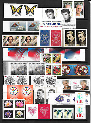 COMPLETE 2015 Modern IMPERFORATE Year Set, MNH