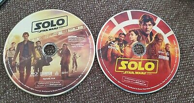 Solo A Star Wars Story Blu Ray + BONUS Disc Only MINT