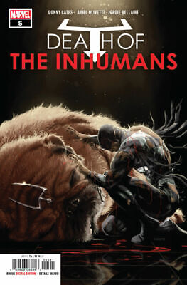 Death of the Inhumans #5 COVER A First Print Cates Marvel Comics 2018