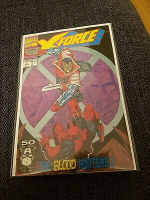 X force 2 nm rare 2nd appearance of deadpool