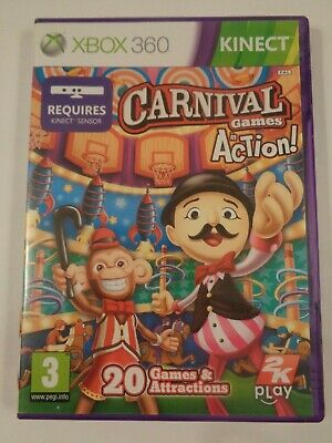 Carnival Games in Action Kinect Xbox 360 *Boxed & Complete*