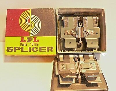 Two Vintage LPL 8mm, Super 8 and 16mm Film Movie Cine Splicers  Made in Japan