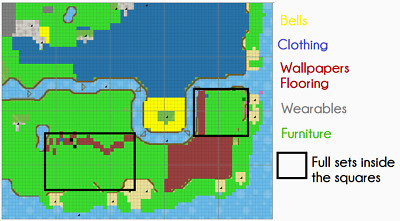 Animal Crossing New Leaf Full Furniture Town Read FULL Listing
