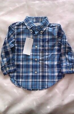 Ralph Lauren Baby Boy's  Long Sleeve Shirt (12 Months)