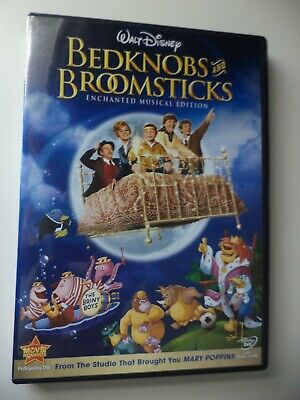 Disney Bedknobs and Broomsticks Enchanted Musical Edition DVD