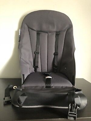 Bugaboo Cameleon Seat Base Unit Canvas Fabric Dark Grey With Straps And Harness