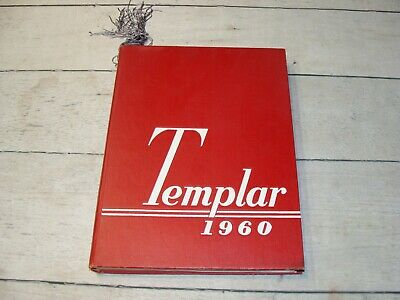 TEMPLAR Vintage 1960 TEMPLE UNIVERSITY Yearbook / PHILADELPHIA PENNSYLVANIA