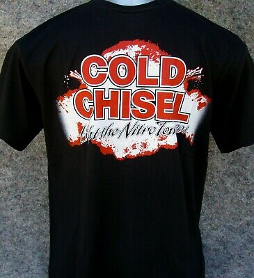 COLD CHISEL - nitro tour - quality screen printed t-shirt sizes S-L-XL