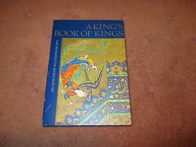 1972 A King's Book of Kings Book Metro Musuem of Art with Slip Cover