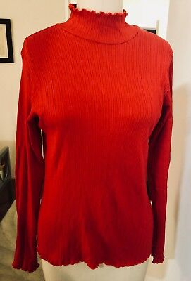38909a66dc ... Linen Fit N Flare Dress 14 NWT Womans (MSRP  69.95).  25.95 Buy It Now  10d 22h. See Details. Vintage Gap tomato red stretch mock turtleneck womens  top L ...