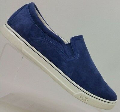 7b3f667cd7c UGG AUSTRALIA FIERCE Suede Leather Slip On Sneakers Marino Blue ...