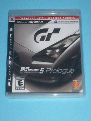 GRAN TURISMO 5 PROLOGUE (Sony PlayStation 3, 2008) (GREATEST HITS VERSION)