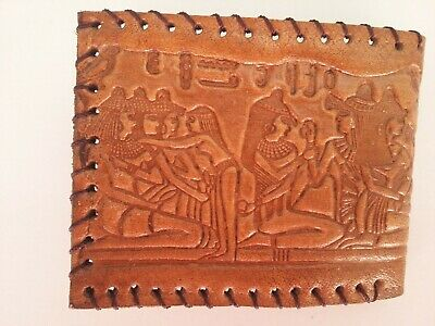 2x Egyptian Real Camel Leather men Wallet