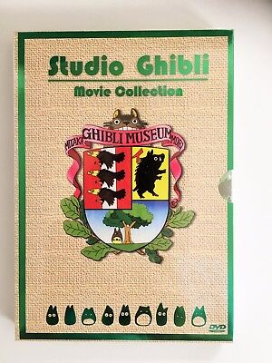 ENGLISH Special Edition Studio Ghibli 17 MOVIES Collection DVD