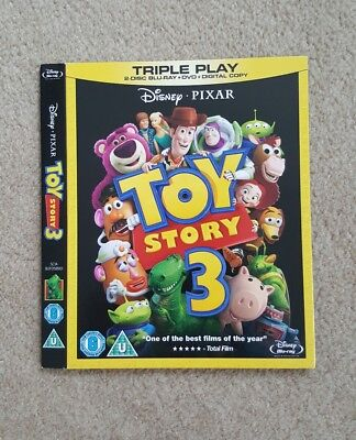 Disney PIXAR Toy Story 3 *BLU RAY* O Ring Slipcovers Only *No movie included*