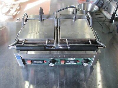 Waring WPG300T Ottimo Grooved Panini Press Sandwich Grill w/ Timer