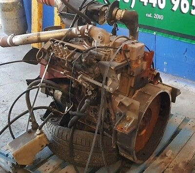 CUMMINS 4BT DIESEL Engine With 4 Speed Transmission