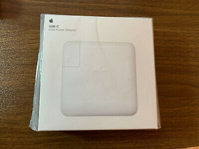 Genuine Original OEM APPLE A1719 87W USB-C Power Adapter Charger MNF82LL//A