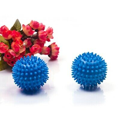Dryer Balls 2 Pack Blue Reusable Dryer Balls Replace Laundry Drying Fabric