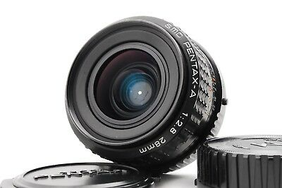 """""""Exc++++"""" Pentax smc A 28mm f/2.8 Wide Angle MF Lens for K-Mount from Japan"""