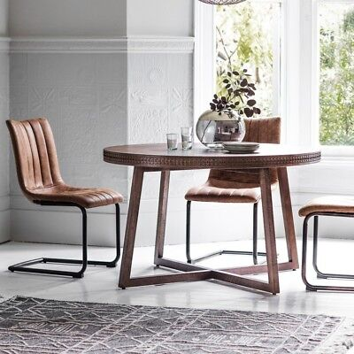 Frank Hudson Gallery Direct Boho Retreat Round Dining Table