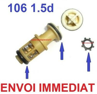 Kit Joint + Clips + Reparation De Panne Support Filtre A Gazoil 106 1,5 D Tud5