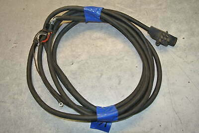 MERCURY VINTAGE WIRE HARNESS 7 PIN 20' 20 ft TILT TRIM CHOKE ... on connectors 3 prong, fuse 3 prong, plug 3 prong,