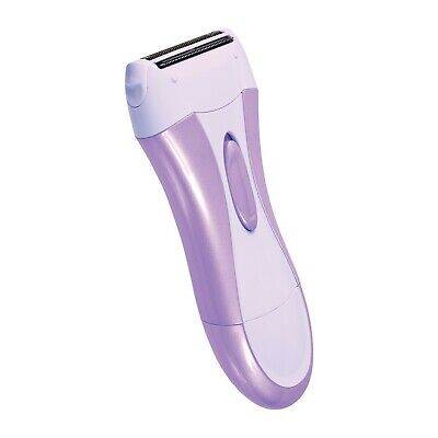 Soft and Smooth Womens Lady Shaver Wet Dry Hair Remover Trimmer Battery Operated