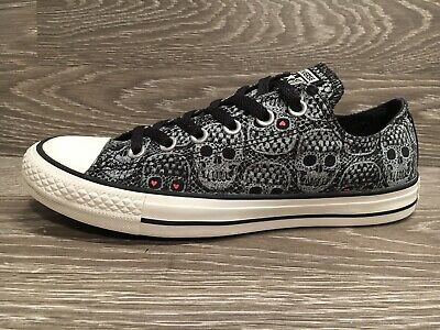 4001643fce GrEur Chucks Uk 42 5 All Skull Sondermodell High 8 Converse Star PkiuXZ