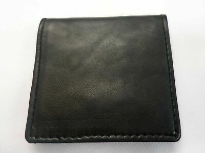 Mens Coin Wallet Purse Coin Change Pouch Tray Black Square Colours Coin Purse