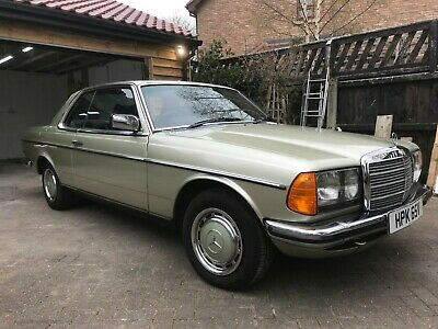 Stunning Mercedes Benz 1979 W123 230C Pillarless Coupe - Immaculate Example