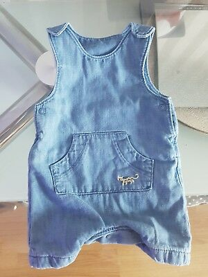 2 Baby Dungarees Upto 1 Month M&S - Mothercare