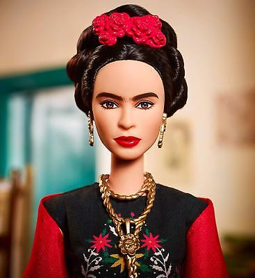 FRIDA KAHLO BARBIE DOLL Inspiring Women Series Mexican Artist Kahlo NEW IN BOX