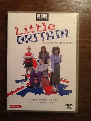 Little Britain - The Complete First Series (DVD, 2005, 2-Disc Set) BBC Video