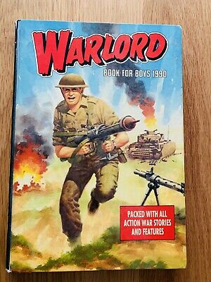 Annual 'Warlord' Book for boys 1990