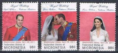 Micronesia postfris 2011 MNH - Royal Wedding (K002)