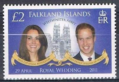 Falkland Islands postfris 2011 MNH - Royal Wedding (K004)