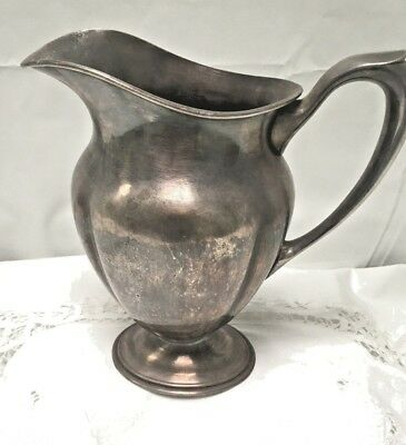 Silver EPSN Pitcher  846 Dutch Hallmark