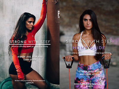 😍💕 STEF FIT - Strong with Stef Home and Gym Guide Bundle
