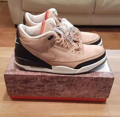 cheap for discount e8bc7 eca78 NIKE AIR JORDAN III 3 RETRO JTH JUSTIN TIMBERLAKE BIO BEIGE UK 13 Jordan 3  jth