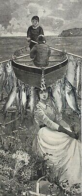 ORIGINAL SURREALIST COLLAGE ART surreal antique Victorian Edwardian 19th Century