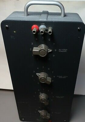 General Radio 1490-D 4-Dial Decade Inductor Box
