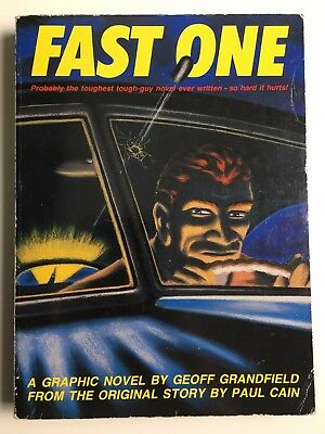 FAST ONE - signed by the artist G.Grandfield - Graphic Novel set in Los Angeles