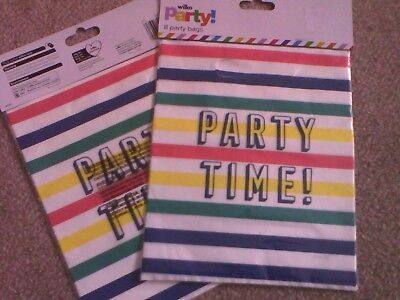 Childrens PARTY FAVOUR GIFT BAGS Kids Loot Girl Boy Filler Sweet BIRTHDAY x16!