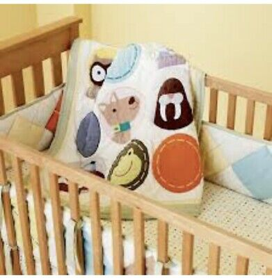 Land Of Nod Critters Crib Bedding Set 4800 Picclick
