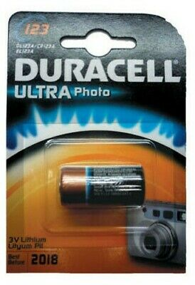 Duracell Ultra Photo Dl123 Battery Lithium Stylus Micro AAA 3v for Camera