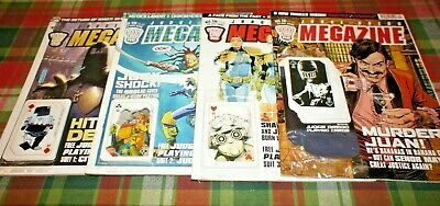 Judge Dredd Megazine #228 #229 #230 #231 With Unopened Free Gift Playing Cards