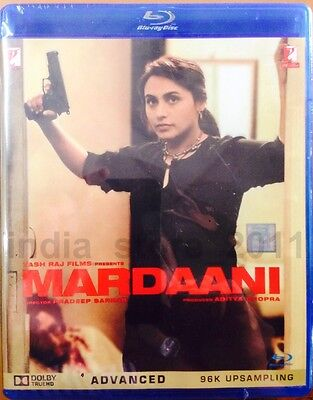 Mardaani Bluray (2014) Bollywood Movie 2-Disc Special Edition Region Free Rani M
