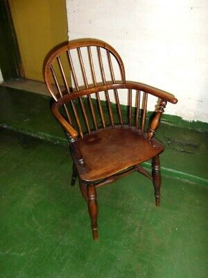 Antique Low Backed Windsor Chair